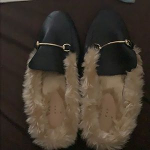 A New Day fur loafers!